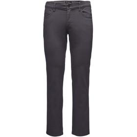 Black Diamond Stretch Font lange broek Heren grijs